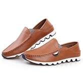 Slip-On Sequins Pointed Toe Men's Loafers