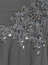 Sequins Appliques Half Sleeve Mother of the Bride Dress
