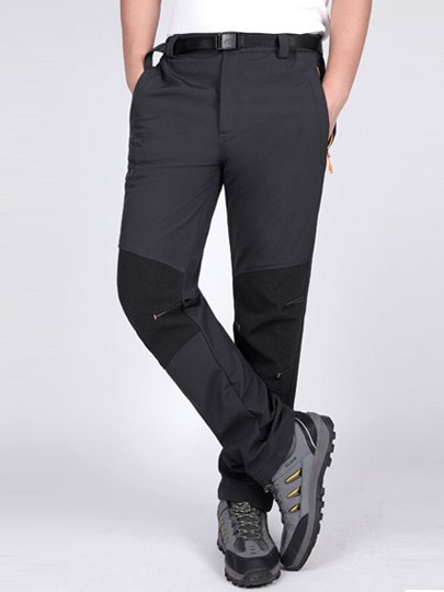 Thickening Warm Waterproof Men's Mountaineering Pants (Plus Size Available)
