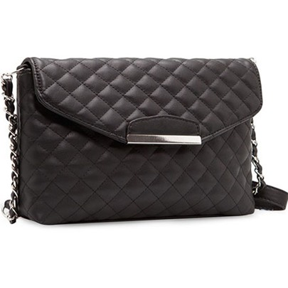 Argyle Chain PU Women's Cross Body Bag
