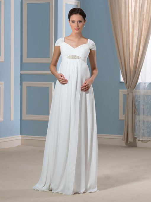 481e4a1783 Maternity Wedding Dresses !