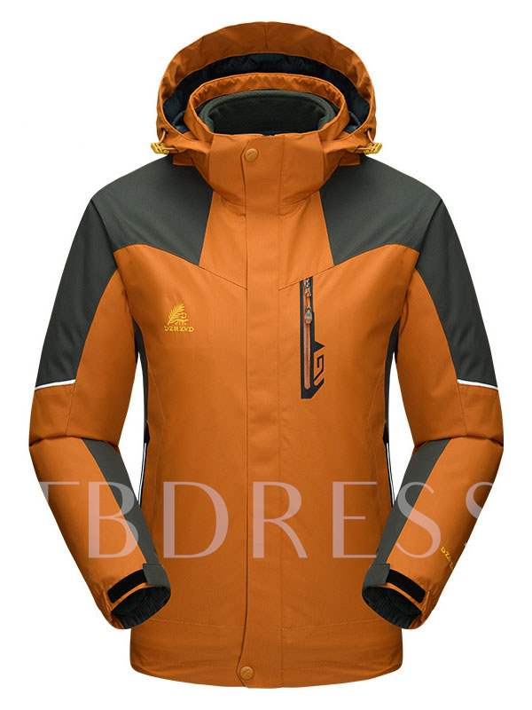 Men's 3-in-1 Twinset Breathable Outdoor Mountaineering Jacket