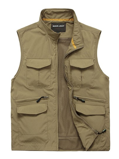 Men's Speed Drying Mesh Oversized Outdoor Leisure Vest