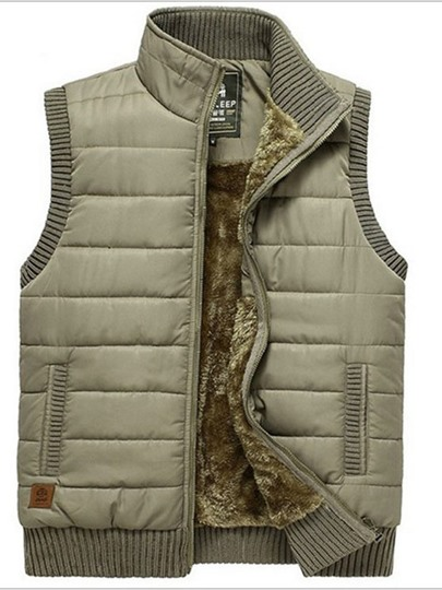 Men's Oversized Outdoor Speed Drying Stand-up Collar Vest