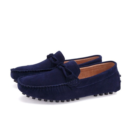 Mocassin Homme Plate au Bout Rond