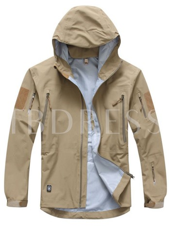 Three-In-One Windproof Breathable Men's Shell Jacket
