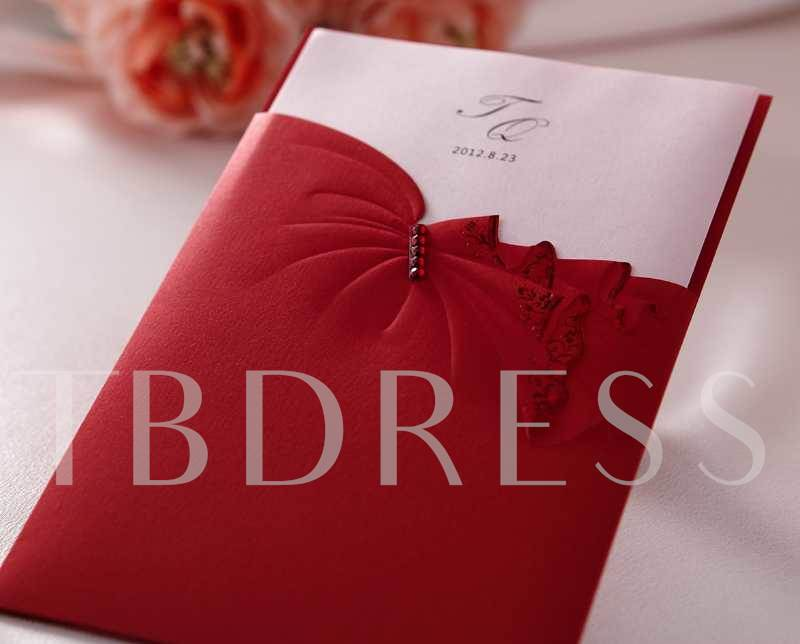 Red Envelope Invitation Cards (20 Pieces One Set)