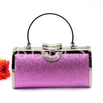 Spectacular Shiny Embossing Agraffe Wedding/Evening Clutches Bag