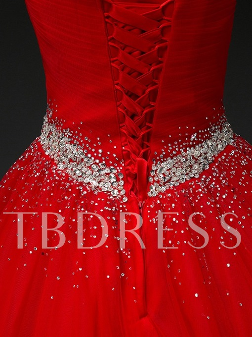 Sweetheart Sequins Floor-Length Quinceanera Dress