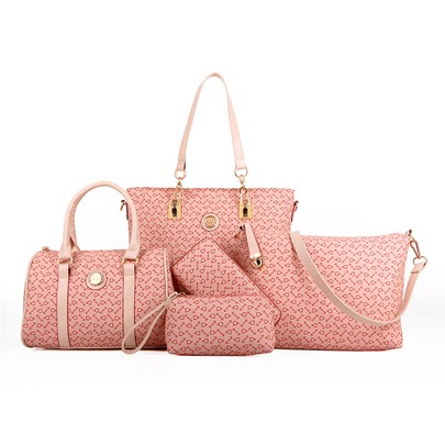 Arrows Pattern Benefits 5 Piece Bag Set