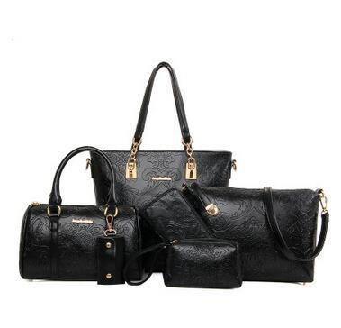 Profound Embossing Zip 6 Pieces Bag Set