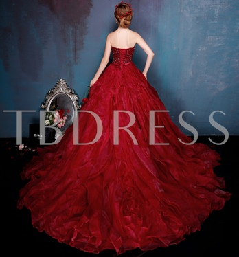 Sweetheart Neckline Ball Gown Appliques Beading Quinceanera Dress