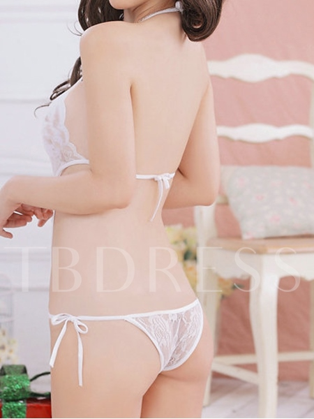 Sexy Lace Backless Teddy Lingerie