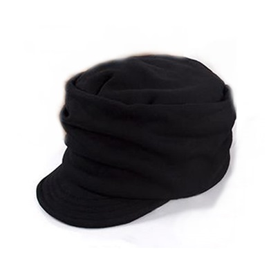 Knitting Flat Top Men's Hat