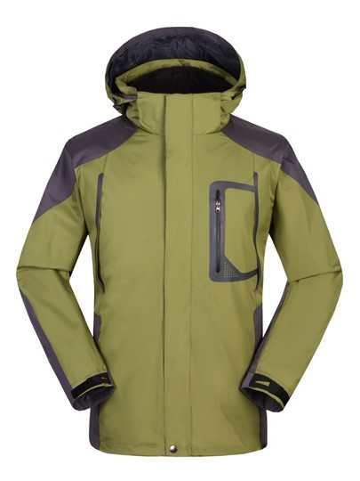 Men's Outdoor Three-in-one Interchange Jacket