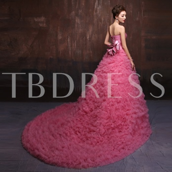 Sweetheart Ball Gown Ruched Belt Quinceanera Dress