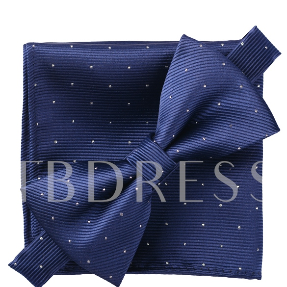 Small Dots Men Bow Tie
