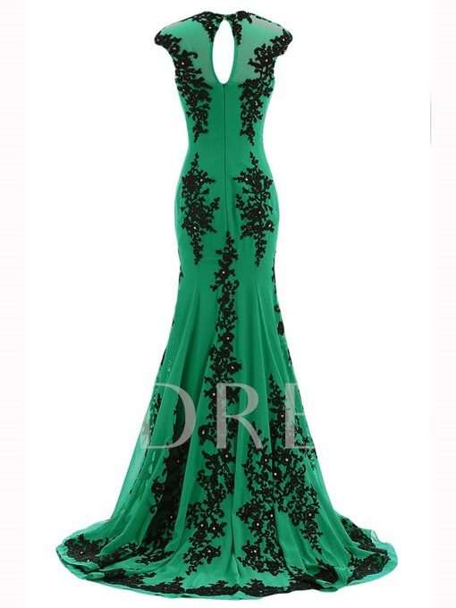 Appliques Mermaid Mother of the Bride Dress
