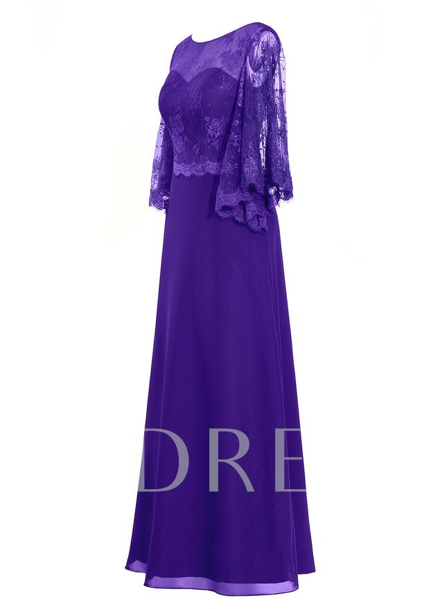 Lace Plus Size Mother of the Bride Dress with Sleeve