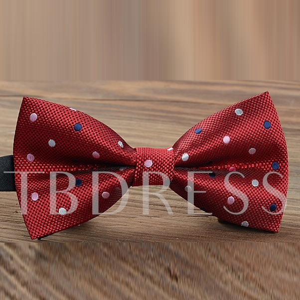 Leisure Dot Men Bow Tie