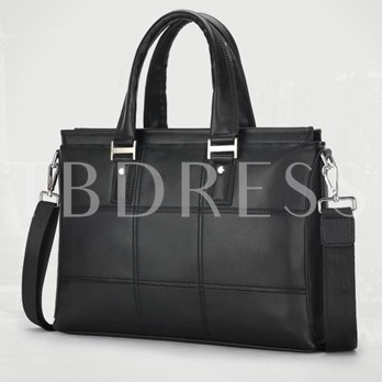 Cross Stitching Business Men's Tote Bag