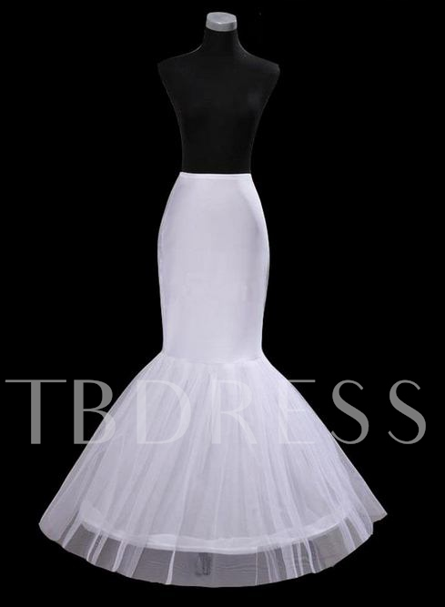 Practical Fish Tailing Style Gauze Wedding Petticoat