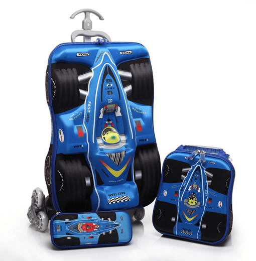 European Cartoon Trolley Bag Luggage Sets