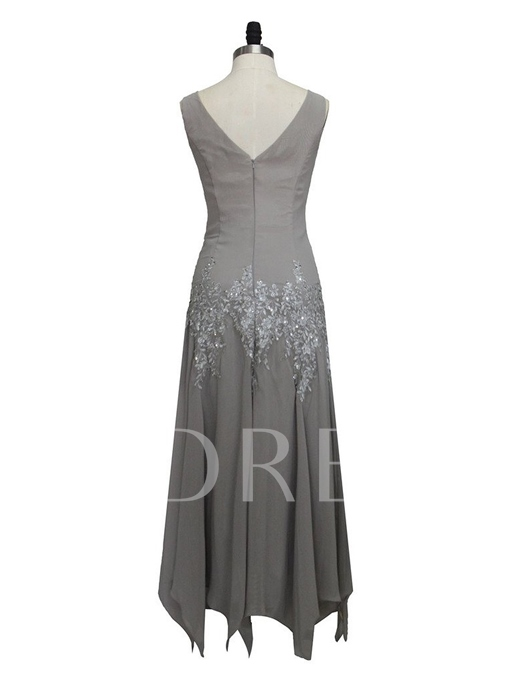 Appliques Sequins Mother of the Bride Dress with Jacket