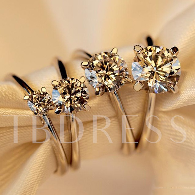 Four Claws Diamond-Shaped Ring