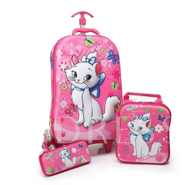 Cartoon Cute EVA Material Trolley Bags