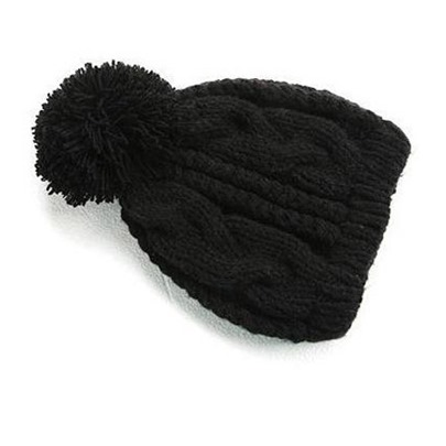 Thickening Twist Knitting Wool Hat for Man