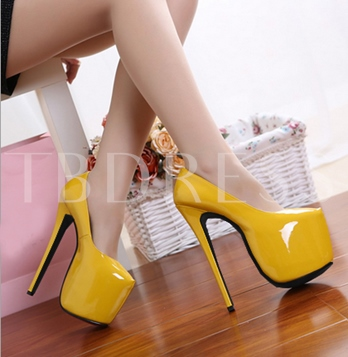 Ultra High Heel Platform Sexy Club Shoes for Women
