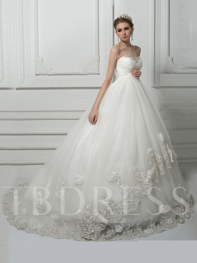 Beading Ball Gown Lace Pregnant Wedding Dress Tbdresscom
