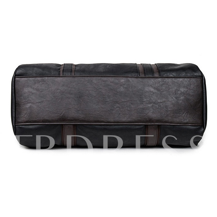 Casual Hiking Belt Decor Men's Travel Bag