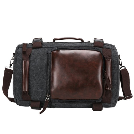 Functional Three Ways To Use Canvas Men's Bag