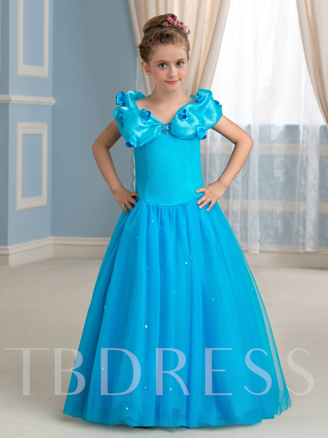 Little Princess Ball Gown Girls Party Dress