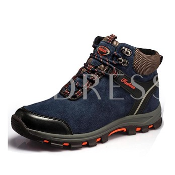 Round Toe Flat Heel Cross Strap Ankle Men's Sneakers