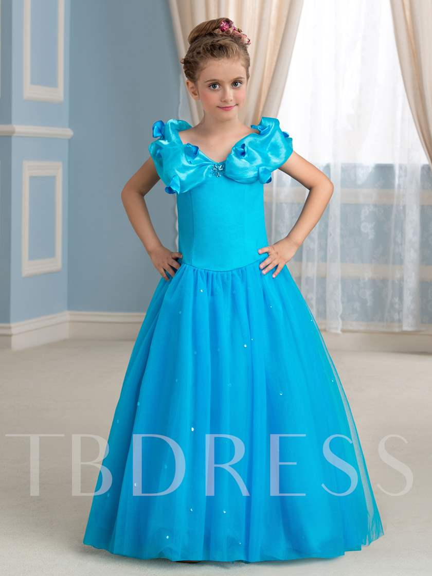 Little Princess Ball Gown Girls Party Dress - Tbdress.com
