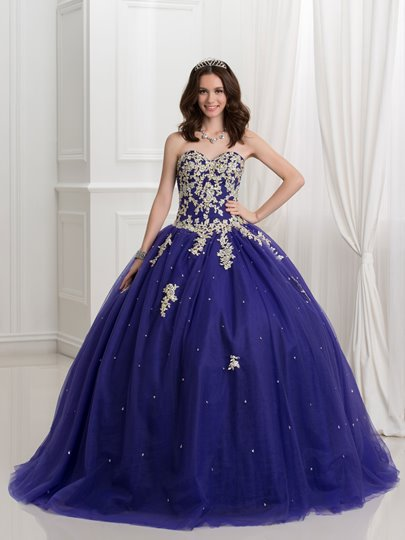 Sweetheart Sequins Beaded Quinceanera Dress