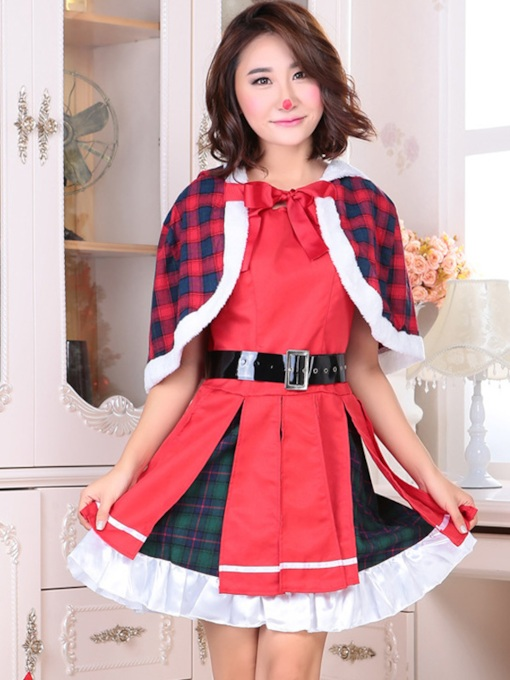 Polyester Western Winter Women's Costumes