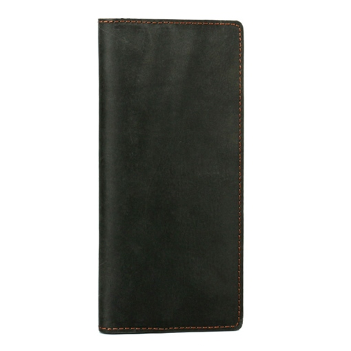 Long Style Cowhide Men's Wallet