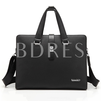 Practical Quality With Belt Latch Men's Tote Bag