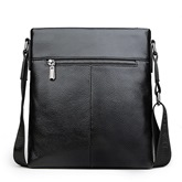 Belt Decor Zipper Gentleman Messenger Bag