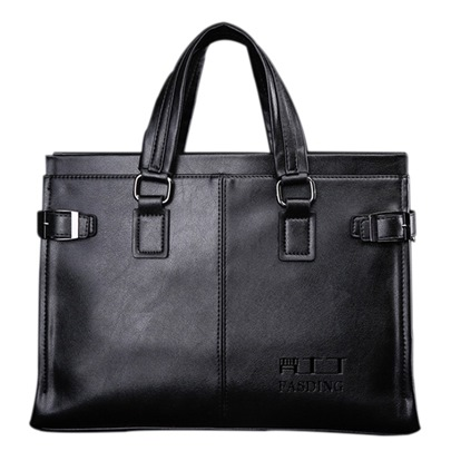 Business Belt In Flanks Men's Tote Bag