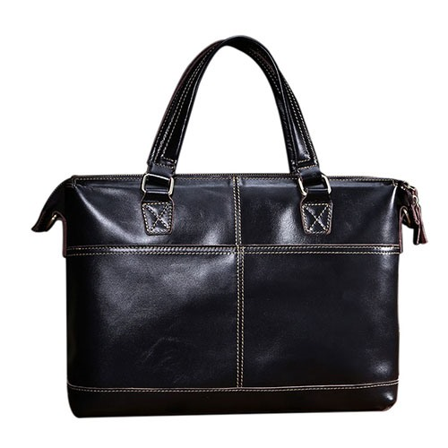 Transverse Cross Thread Quality Men's Tote Bag
