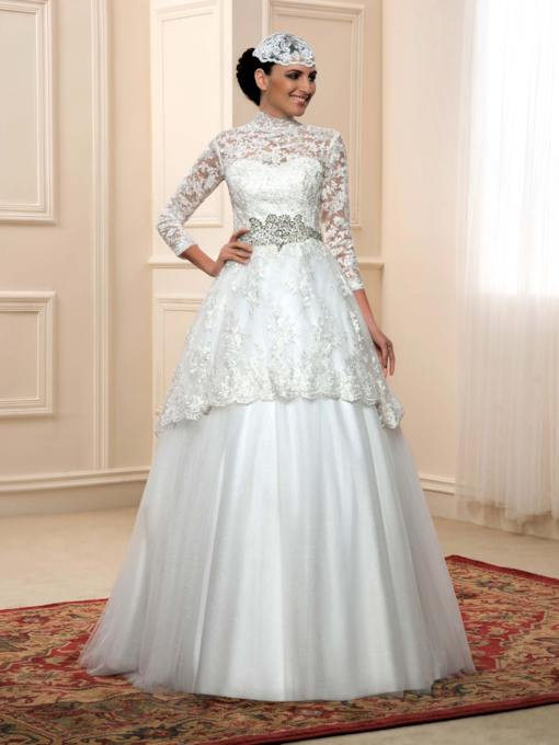Cheap Muslim Wedding Dresses Online Sale Tbdress