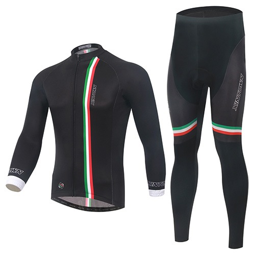 Stretchable Windproof Men's Cycling Suit