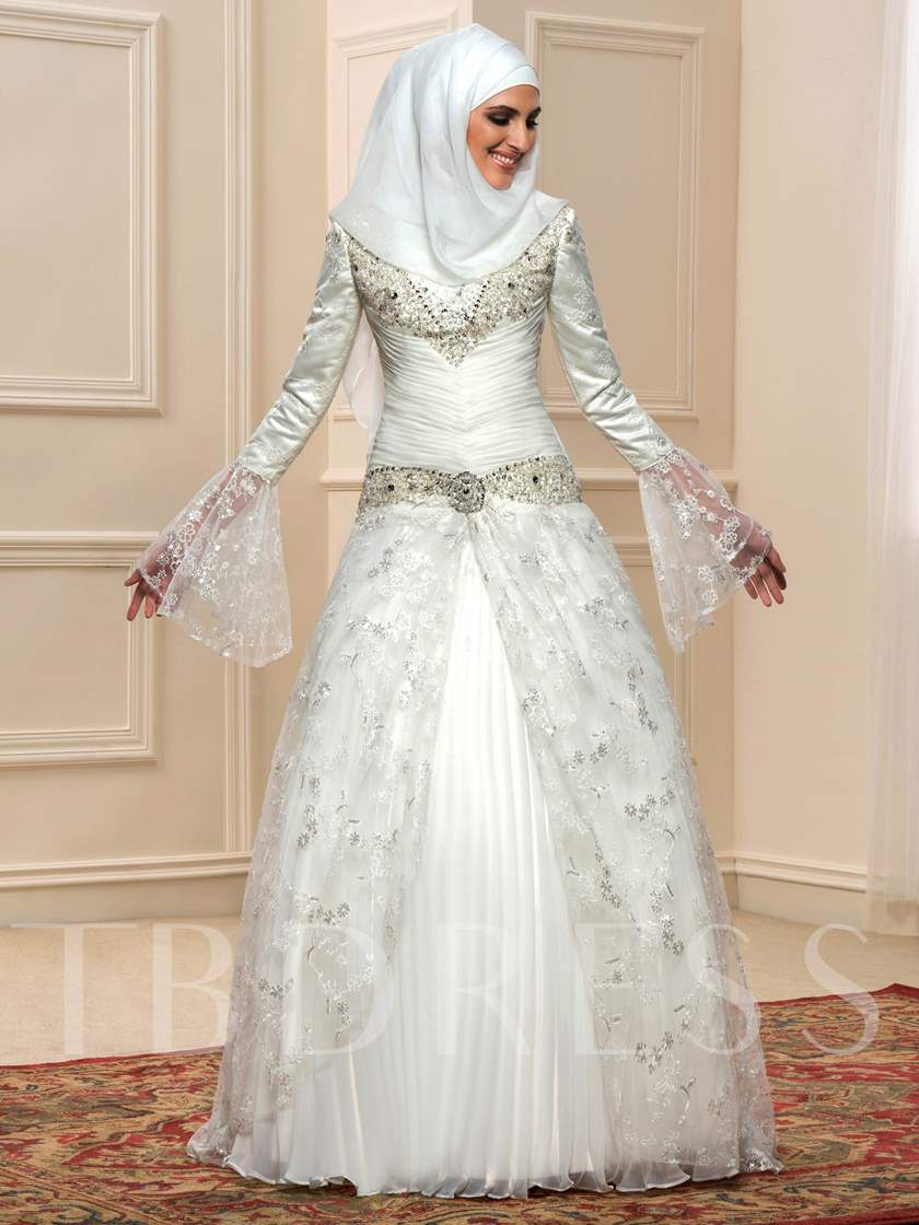 Exelent Arabic Wedding Dresses Model - Wedding Dresses & Bridal ...