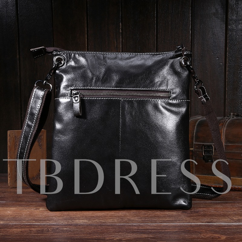 Elaborate Multi-Dimensionality With Thread Men's Messenger Bag