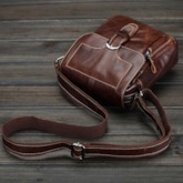 Mini Cube Cover With Pin Buckle Men's Messenger Bag